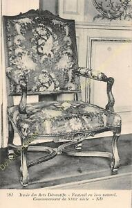Postcard-Arts-Decorative-Chair-Furniture-Period-XVIII-Edit-ND-591