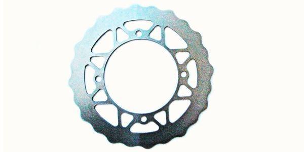 Ajuste Suzuki Rm-Z 450 K5/K6/K7 05>07 EBC Traseras Pulido No Perforado Enduro