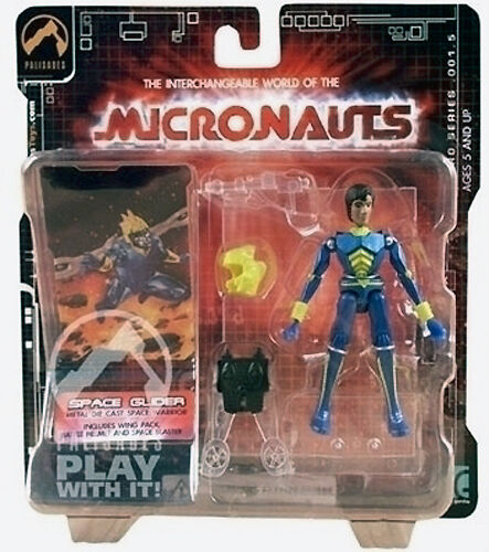 NEW Micronauts Palisades Exclusive Series 1.5 Limited Edition Spaceglider MOC