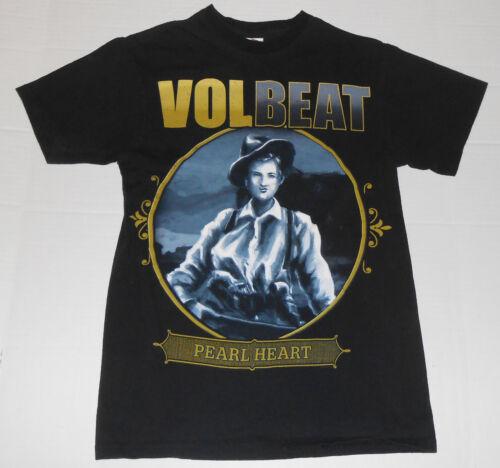 VOLBEAT Pearl Heart Band Concert Tour Black T Shir