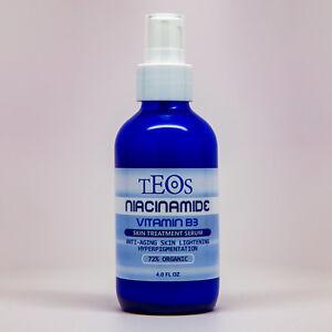 Niacinamide Serum / Vitamin B3 Cream w/ Hyaluronic Acid Anti-Aging / Acne 4.0oz