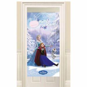 Disney-039-s-frozen-classic-children-039-s-birthday-party-porte-banniere-affiche-decoration
