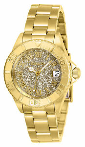 Invicta-Women-039-s-Angel-Quartz-100m-Gold-Tone-Stainless-Steel-Watch-26293