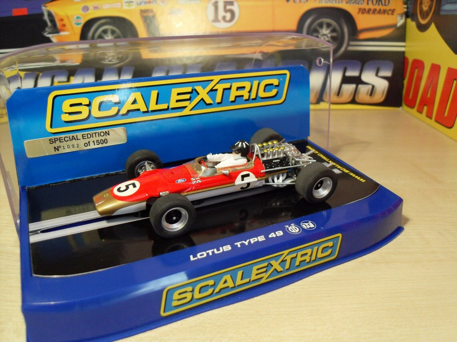 Scalextric C2964 Lotus 49 'Graham Hill - Limited Ed' - Brand New in Box.