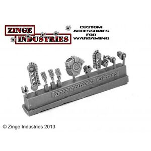 Zinge Industries Robotic Servo Arm Backpacks Arms Feet and Optic Sprue SSER03 - <span itemprop=availableAtOrFrom>Preston, United Kingdom</span> - Whilst I am confident that you will be pleased with your purchase the EU Distance Selling Directive means you are entitled to return ordered goods within 7 days of receipt should you chan - Preston, United Kingdom