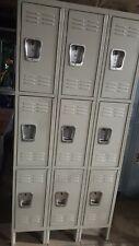 3 Tier X 3 Storage Locker