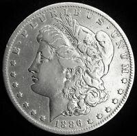 1886-o Morgan Silver Dollar.  High Grade.  (INV.A)