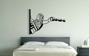 Lego Spiderman Children039s Bedroom Living Room Decal Wall Art Sticker Picture - Southend-on-Sea, United Kingdom - Returns accepted for damaged goods onlu Most purchases from business sellers are protected by the Consumer Contract Regulations 2013 which give you the right to cancel the purchase within 14 days after the day you receive - Southend-on-Sea, United Kingdom
