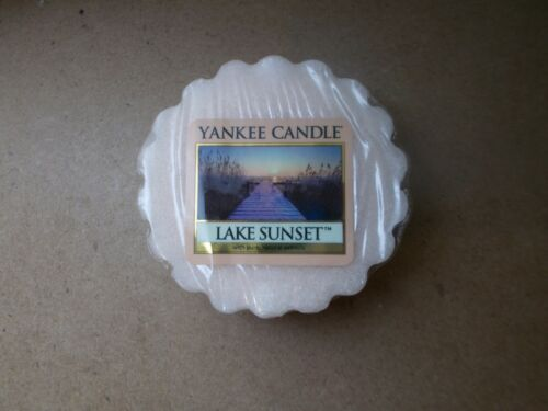 Yankee Candle USA RARE Lake Sunset Wax tart