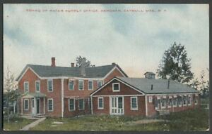 Olive-NY-c-1907-10-Postcard-BOARD-OF-WATER-SUPPLY-OFFICE-ASHOKAN-Reservoir