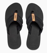 32e2b8b7143b item 5 REEF Women s Black Cushion Threads Sandals ~ Size 7 -REEF Women s Black  Cushion Threads Sandals ~ Size 7