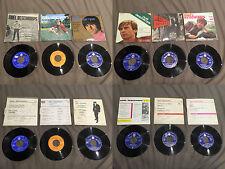 Lot 8 disques 45 tours Noël Deschamps