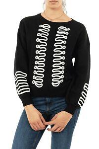 Molly Bracken - Sweater Large à Plastron Officier noir à - 25%