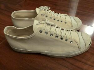 b0e8f1c45ed89b CONVERSE JACK PURCELL VINTAGE SHOES LOW TOP CREAM MEN S MADE IN USA ...