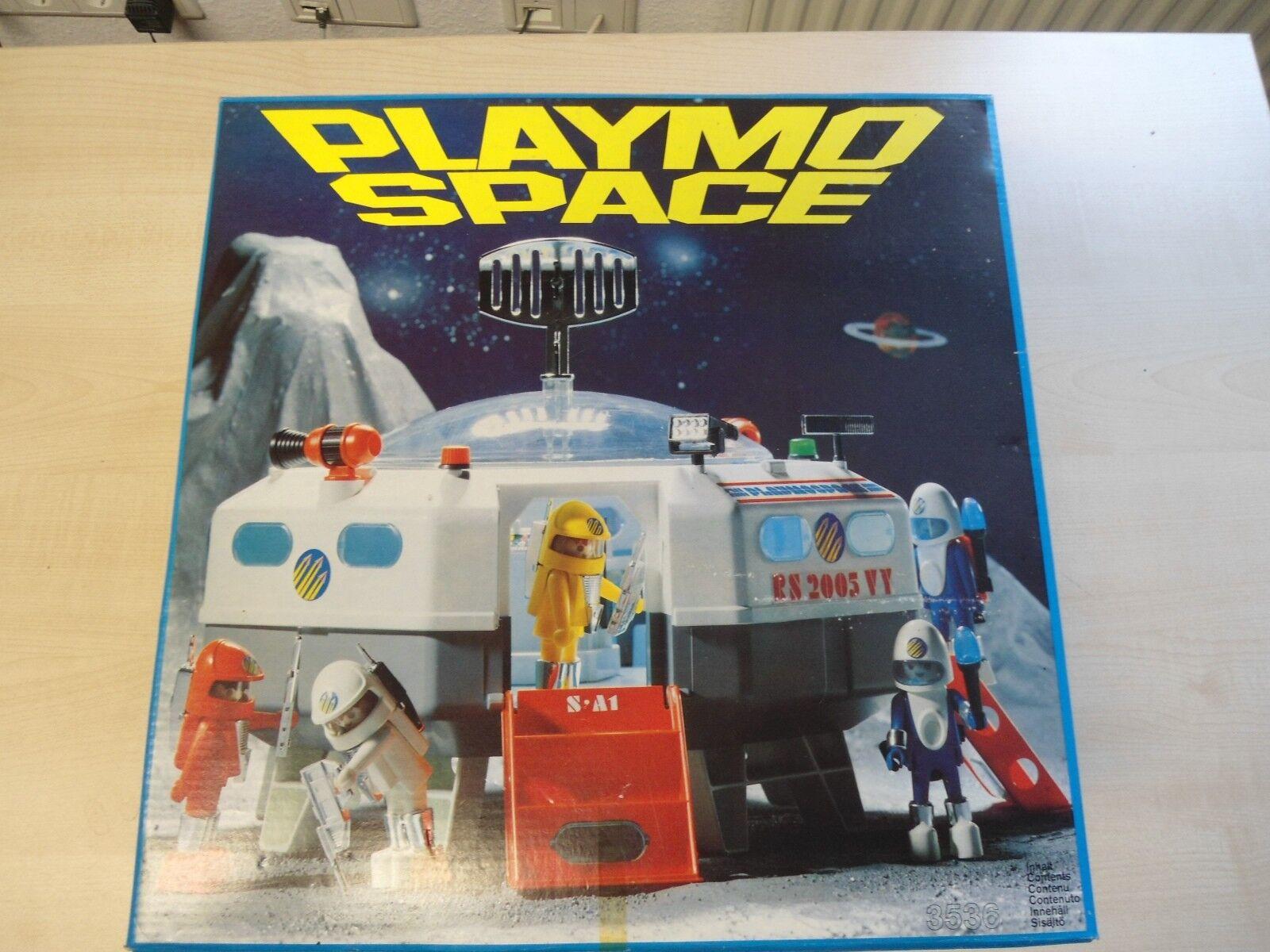 Playmobil  Klicky Set 3536   Raumstation   selten Neu