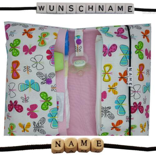 XXL Windeltasche to go mit Name Wickeltasche Mädchen DaWanda Geburt Taufe NEU