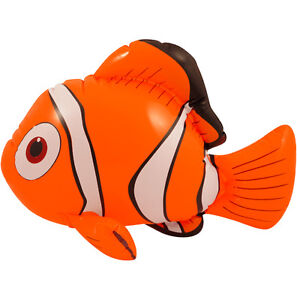 Details about 10 X Inflatable Fish Clown Fish Finding Nemo Inflatable - 45CM