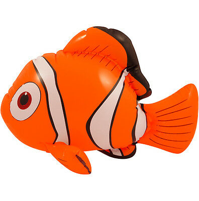 10 X Inflatable Fish Clown Fish Finding Nemo Inflatable - 45CM