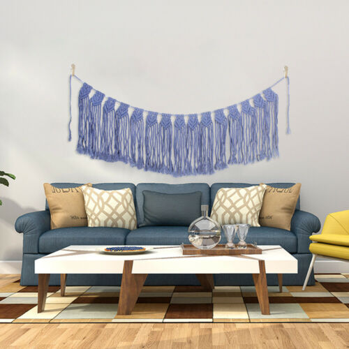 New Bohemian Tapestry Macrame Wall Hanging Tapestry Boho Handmade Woven Decor