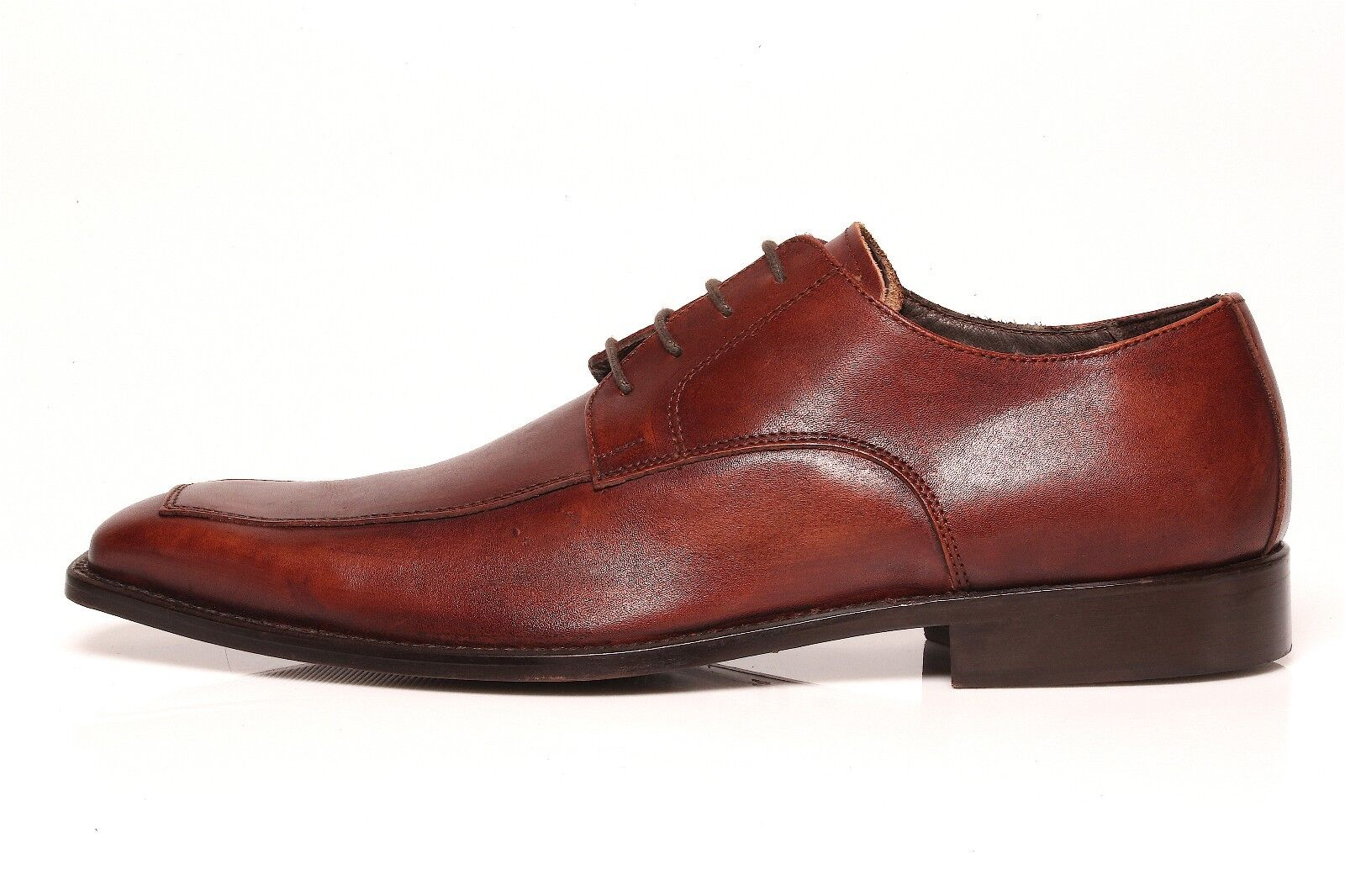 To Boot New York Adam Derrick Men's Brown Lace Up Derby 7495 Sz 10.5