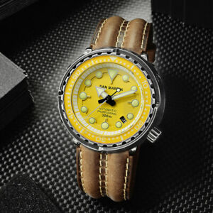 San-Martin-new-Tuna-SBDC013-Wrist-Watches-for-Men-NH35-Movement-Automatic-watch
