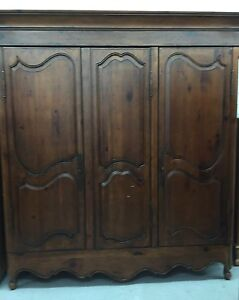 Details About Habersham Plantation French Provincial Armoire Wardrobe Heirloom 7 Tall Solid