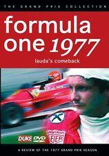 Formula One 1977 Review - Lauda's Comeback (New DVD) F1 Nik Jody Scheckter