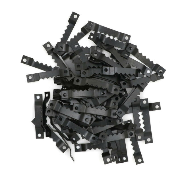 50pcs Black Saw Tooth Sawtooth Hanging Picture Photo oil Painting Mirror Frame