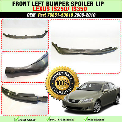 LEXUS IS250 IS350 IS250d Front Bumper Left Molding 2006-2009