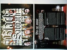 COUPURE DE PRESSE-CLIPPING :  BLACK SABBATH [4pages] 04/2007 Dio,Heaven And Hell