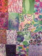 16 SHEET TASTER PACK FIRST EDITION WILD FLOWER 6 x 6 CARD MAKING CRAFT PAPER