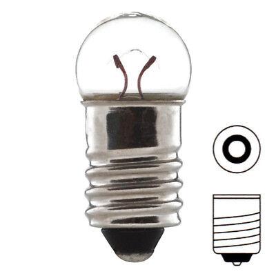 AMPOULE 2.5V 0.75W 300mA E10 A VISSER ECLAIRAGE LAMPE TORCHE VELO DYNAMO EDISON