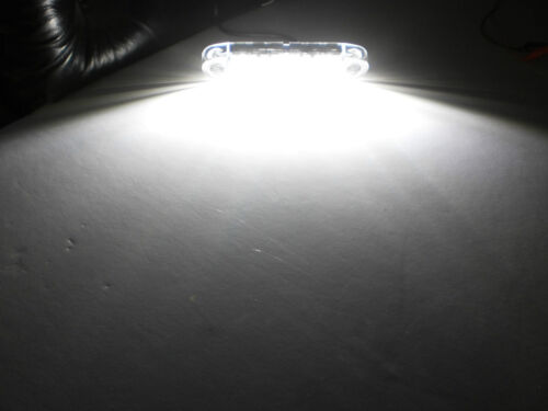 "6/"" White LED Ground Panel Backup Work Light Off Road Trailer Jeep USA"