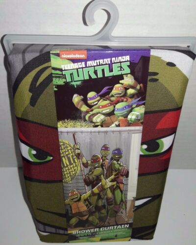 Ninja Turtle Shower Curtain