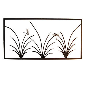 3-Reed-Panel-Garden-wall-art-Large-Australian-Made