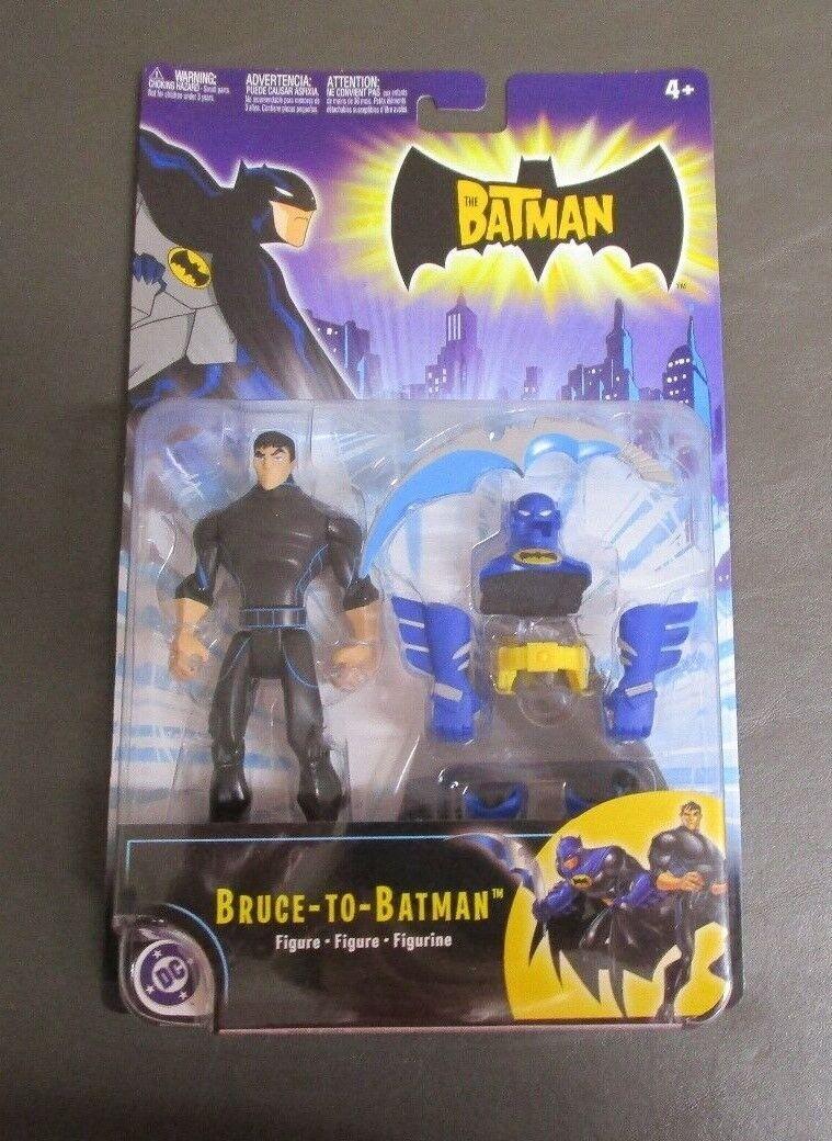 Bruce To Batman 2004 THE BATMAN ANIMATED SERIES Mattel MOC NEW
