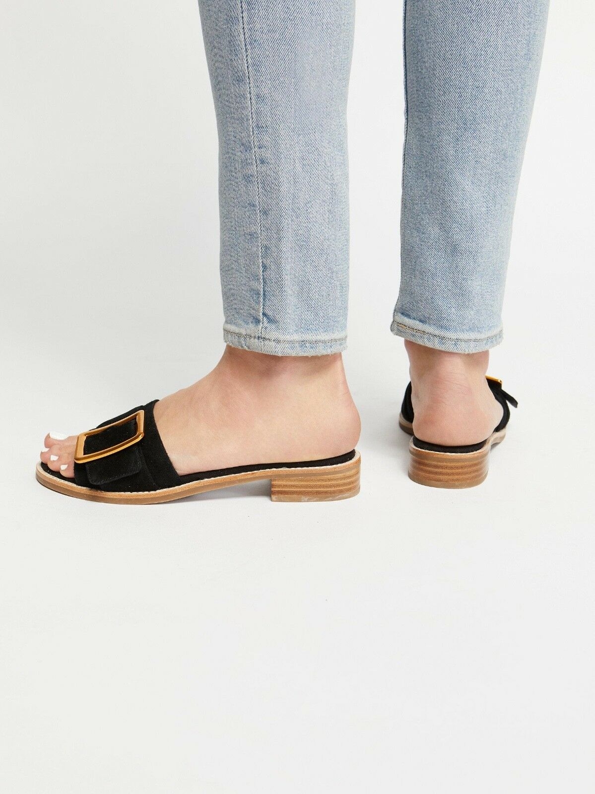 NEW Free People + Jeffrey Campbell Drew Slide Sandal Sandal Sandal size 7.5 MSRP   135 b22731