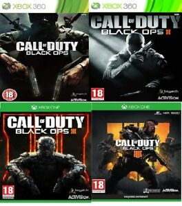 Black-ops-Xbox-360-Xbox-one-Backward-Compatible-Assorted-MINT-Fast-Delivery