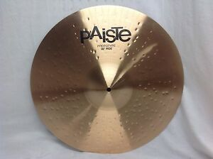 PAISTE-T20-20-034-Ride-Cymbal-New-Prototype-Model-With-Warranty-2162-Grams-1004