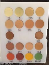 Kryolan 71018 3/18 Dermacolor Camouflage Creme 18 Colors Mini Makeup Palette NEW