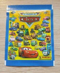 Panini-1-Tuete-Walt-Disney-Pixar-El-Mundo-de-Cars-Bustina-Pack-Sobre-Pochette