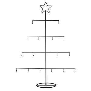 Weihnachtsbaum Metall.Details Zu Dekohalter Weihnachtsbaum Metall H 76 Cm Weihnachtsdeko Kugelhalter Fenster