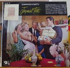 """SURPRISE PARTY """"JOYEUSE FÊTE""""  WITH  STICKER CALENDAR FRENCH LP"""