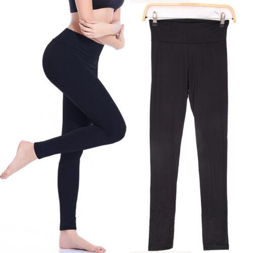 Womens Fitness Yoga Leggings Seamless Gym Sports High Waist Pants Trousers