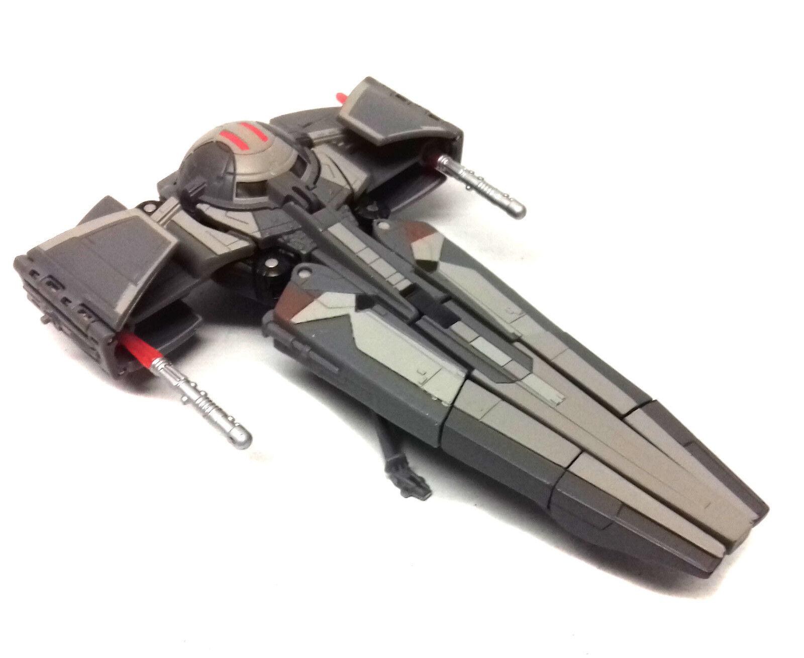 STAR WARS TRANSFORMERS Darth Maul Infiltrator 6    figure toy vehicle 100% RARE  4d3ffe