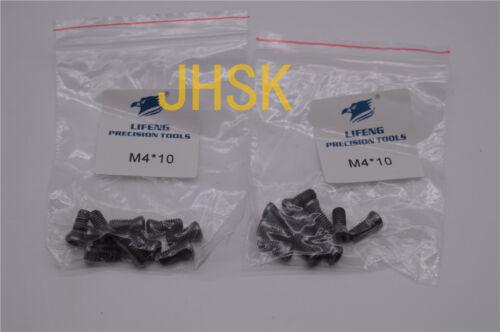 20*  M4 x 10mm Insert Torx Screw for Carbide Inserts Lathe Tool M4*10 CNC