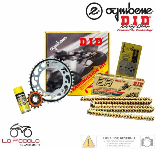 KIT TRASMISSIONE RACING DID CATENA CORONA +2 PIGNONE KTM LC8 950 SUPERMOTO 2006