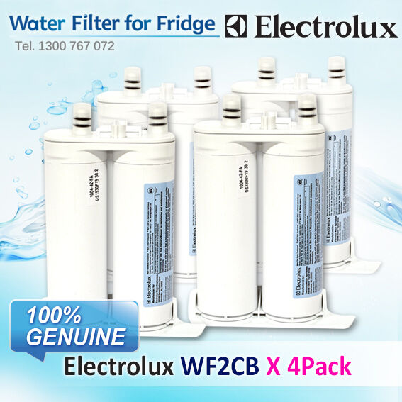 4 x GENUINE WF2CB WF2CB WF2CB WESTINGHOUSE ELECTROLUX FRIDGE WATER FILTER PART   240396407K b691c8
