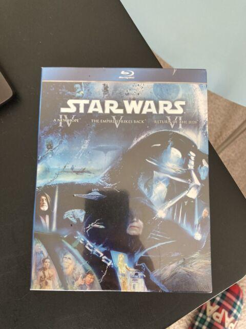 Star Wars The Original Trilogy Episodes Iv Vi Blu Ray Disc 2011 3 Disc Set For Sale Online Ebay