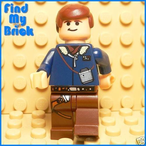 SW708 Lego Star Wars Han Solo Minifigure 6212 4504 - NEW